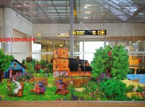 Lotte kleebis lennujaamas