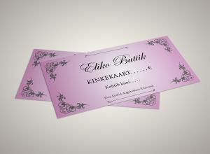 Eliko_Butiik_kinkekaart