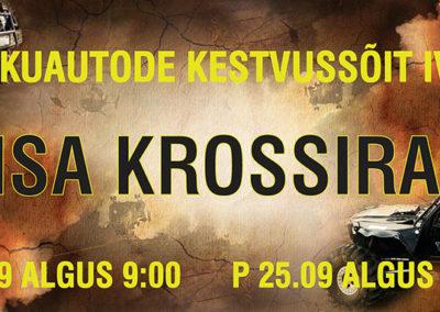 """""""Hinsa kross"""" banner"""